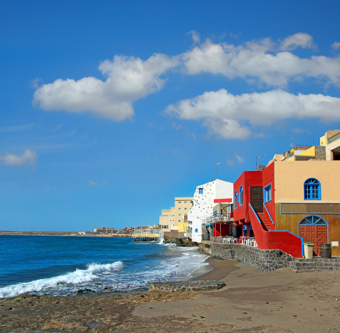 El Mdano the bohemian resort of Tenerife